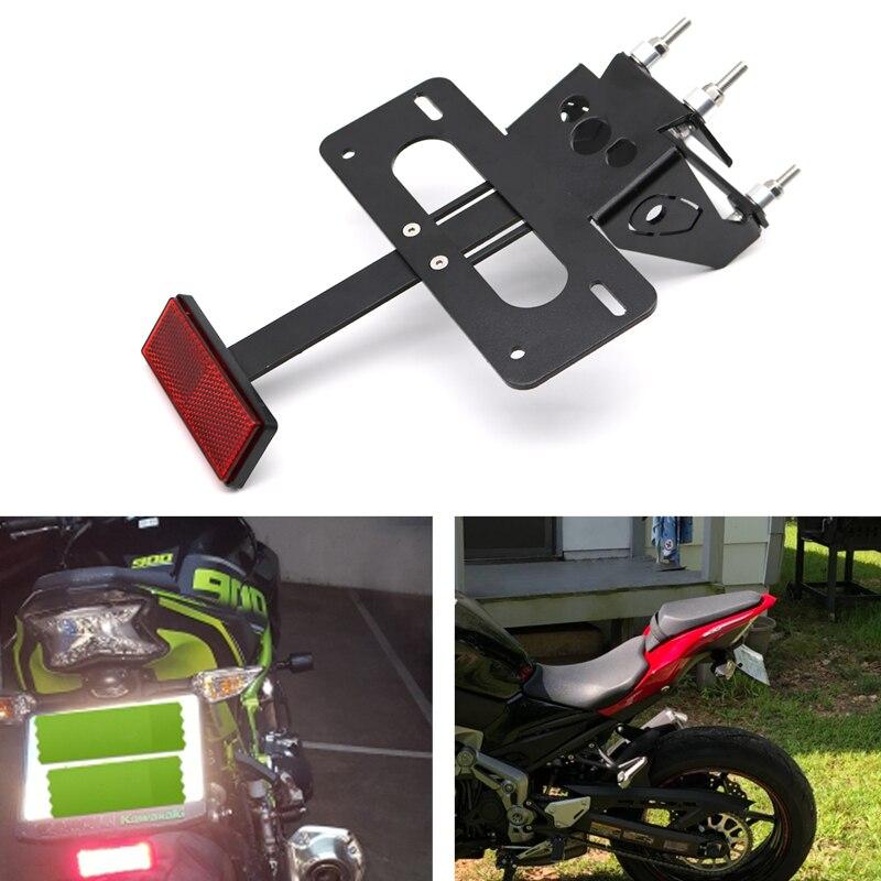 For Kawasaki Z900 2017-2020 Rear Tail Tidy Number License Plate Holder Motorcycle Fender Eliminator kit Z900 2017 2018 2019 2020